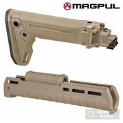 MAGPUL Zhukov-S AK47 AK74 AKM Folding Collapsible Stock + Zhukov Handguard M-Lok MAG585-FDE MAG586-FDE