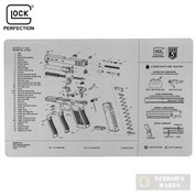 "Glock GEN 5 BENCH MAT 11""x17"" Diagram Parts List AS10064"