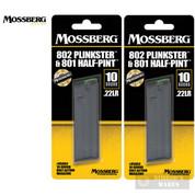 Mossberg 802 Plinkster 801 Half-Pint 817 .22LR 10 Round MAGAZINE 2-PACK 95803