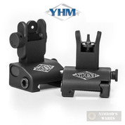 Yankee Hill QDS Same Plane SIGHTS SET Front/Rear Aluminum YHM-5040