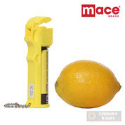 Mace PEPPER SPRAY 12ft 20 Bursts SELF DEFENSE Neon Yellow 80728