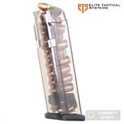 ETS Glock 17 18 19 19X 26 34 45 Gen1-5 9mm 10 Round MAGAZINE GLK-17-10