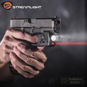 Streamlight GLOCK 43X 48 MOS/RAIL WEAPONLIGHT + LASER 100 Lumens 69286