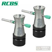 RCBS Powder Trickler 2 2-PACK Height Adjustable RELOADING 09089