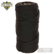 Tac Shield 550 CORD Paracord 550lb Strength 200ft. BLACK 03020