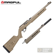 MAGPUL Hunter X-22 RUGER 10/22 Takedown Stock/Chassis + Extra Forend MAG760-FDE MAG1065-FDE
