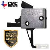 CMC AR15 AR10 Competition Match-Grade TRIGGER Single Stage FLAT 2.5lb Drop-In 90503