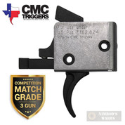 CMC AR15 AR10 Competition Match-Grade TRIGGER Single-Stage Curved 2.5lb Drop-In 90501