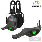 Walker's FIREMAX EAR MUFFS + WALKIE TALKIE Rechargeable Slim 20-23 NRR 4 Modes GWP-DFM GWP-DFMWT