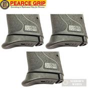 Pearce Grip S&W M&P SHIELD EZ 9MM GRIP EXTENSION 3-PACK PG-9EZ