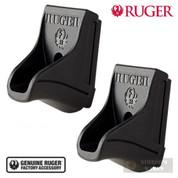 Ruger SR9C SR40C 10-Round Magazine FINGER EXTENSION 2-PACK 90343