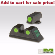 Meprolight TruDot Night Sights GLOCK 9mm .357SIG .40SW 45GAP ML-10224 - Add to cart for sale price!