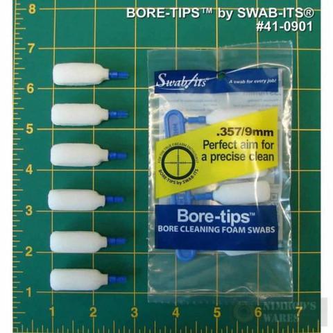 Swab-Its BORE TIPS 9MM 6 PK 41-0901