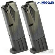Mec-Gar S&W 5900 910 915 659 9mm 10 Round MAGAZINE 2-PACK MGSW5910B