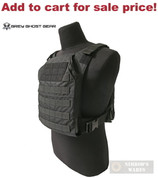"""GG Minimalist BODY ARMOR Carrier 10""""x12"""" or ESAPI PLATE Black 0007-2 - Add to cart for sale price!"""