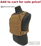 """GG Minimalist BODY ARMOR Carrier 10""""x12"""" or ESAPI PLATE COY 0007-14 - Add to cart for sale price!"""