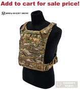 """GG Minimalist BODY ARMOR Carrier 10""""x12"""" / ESAPI PLATE Multicam 0007-5 - Add to cart for sale price!"""