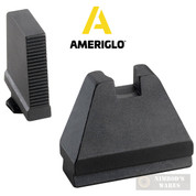AmeriGlo GLOCK Gen 1-5 Tall Suppressor SIGHTS SET 9XL Black GL-808