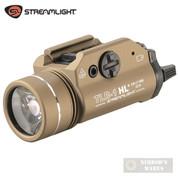 Streamlight TLR-1 HL Handgun WEAPON LIGHT 1000 Lumens FDE 69266