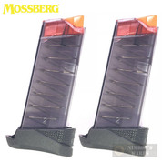 Mossberg MC1sc 9mm 7 Round EXTENDED MAGAZINE 2-PACK Clear 95416