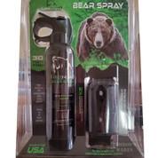 Griz Guard BEAR SPRAY 30ft Fog 7.9 oz + Holster BS-GA9-1000