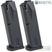 Beretta 96 96A1 90-Two .40SW 10 Round MAGAZINE 2-PACK OEM JM96
