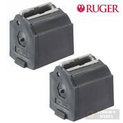 Ruger BX-1 90005 10/22 10 Round 22LR Black Plastic MAGAZINE 2-PACK