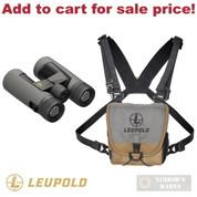 Leupold BX-2 Alpine HD BINOCULAR 10x42mm Harness Covers Cloth 181177 - Add to cart for sale price!