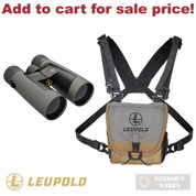 Leupold BX-2 Alpine HD BINOCULAR 10x52mm Harness Covers Cloth 181178 - Add to cart for sale price!