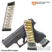 ETS Glock 42 G42 .380 ACP 9 Round MAGAZINE 2-PACK GLK-42-9
