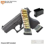 ETS Glock 42 G42 .380 ACP 9 Round MAGAZINE + X-Grip ADAPTER GLK-42-9 GL42-9