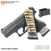 ETS Glock 43 G43 9mm 9 Round MAGAZINE + X-Grip ADAPTER GLK-43-9 GL43-9
