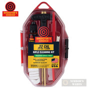Shooter's Choice .22 .22-.250 .223 RIFLE CLEANING KIT SHF-SRS-22