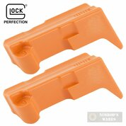 Glock Gen 5 G17 G19 MAGAZINE FOLLOWER 2-PACK 9mm ORANGE SP05233 OEM