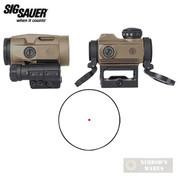 Sig Romeo MSR Red Dot + Juliet3 Micro Magnifier COMBO FDE SORJ72011