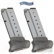 Walther PPS M2 9mm 8 Round MAGAZINE 2-PACK 2807807 OEM