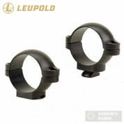"Leupold 49898 Standard 1"" LOW RINGS for Rifle Scopes Matte"