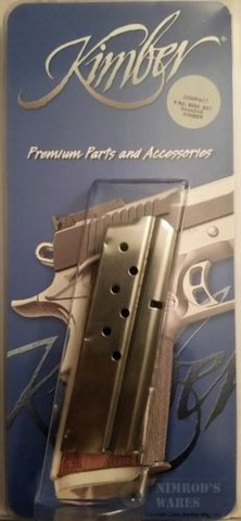Kimber 1000139A 1911 9mm 8Rd Magazine Compact/Ultra/Colt Officer