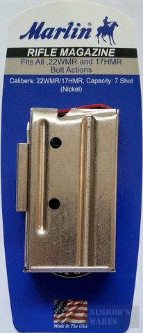 Marlin 705246 7Rd Magazine For ALL 22WMR/17HMR Rifle Bolt Actions