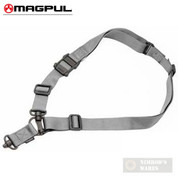 MAGPUL MAG518-GRY Gen2 MS4 Dual QD Swivels Single/Two-Point SLING Gray