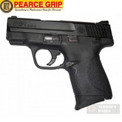 "Pearce Grip S&W M&P SHIELD 9mm .40 GRIP EXTENSION Add 3/4"" PG-MPS"
