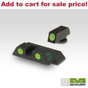 Meprolight Glock 26 27 Tru-Dot Night SIGHTS SET ML-10226 - Add to cart for sale price!