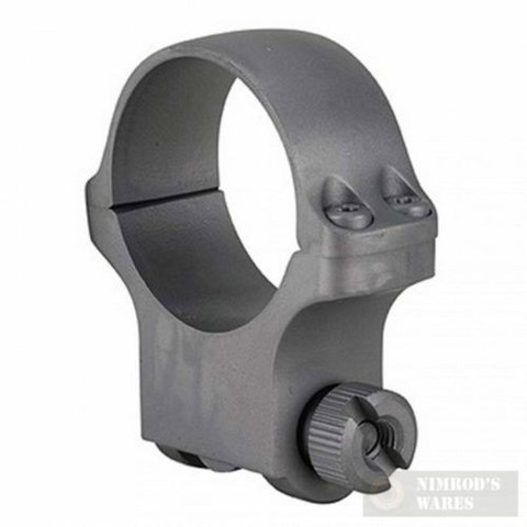 RUGER 30mm High Scope RING (1) Hawkeye SS Matte Finish 90319