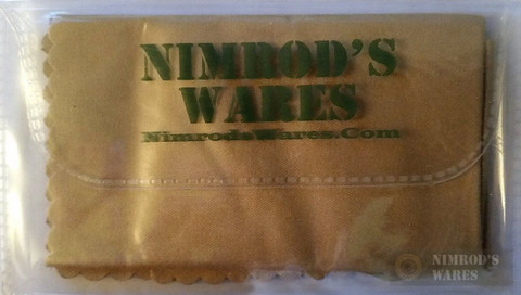 "NIMROD'S WARES Multi-Purpose Microfiber Cleaning Cloth 6""x6"""