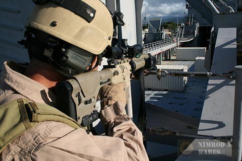 MAGPUL MAG307-FDE PRS Precision-Adjust. .223/5.56 Sniper Stock