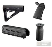Magpul CTR MOE Kit, MIL SPEC, 4 Piece, Black