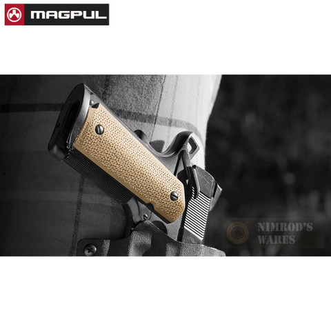 MAGPUL MOE 1911 Grip Panels w/ TSP Texture MAG544-FDE