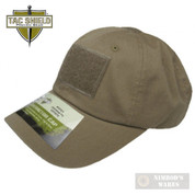 Tac Shield Government Contractor Cap 3 Loops COY T27CY