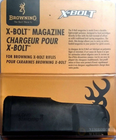 BROWNING X-BOLT Long Action Standard MAGAZINE 30-06 280 270 25-06 4-Rds 11204460