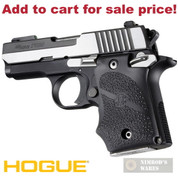 Hogue SIG Sauer P938 Ambi-Safety GRIP w/ Finger Grooves 98080 - Add to cart for sale price!
